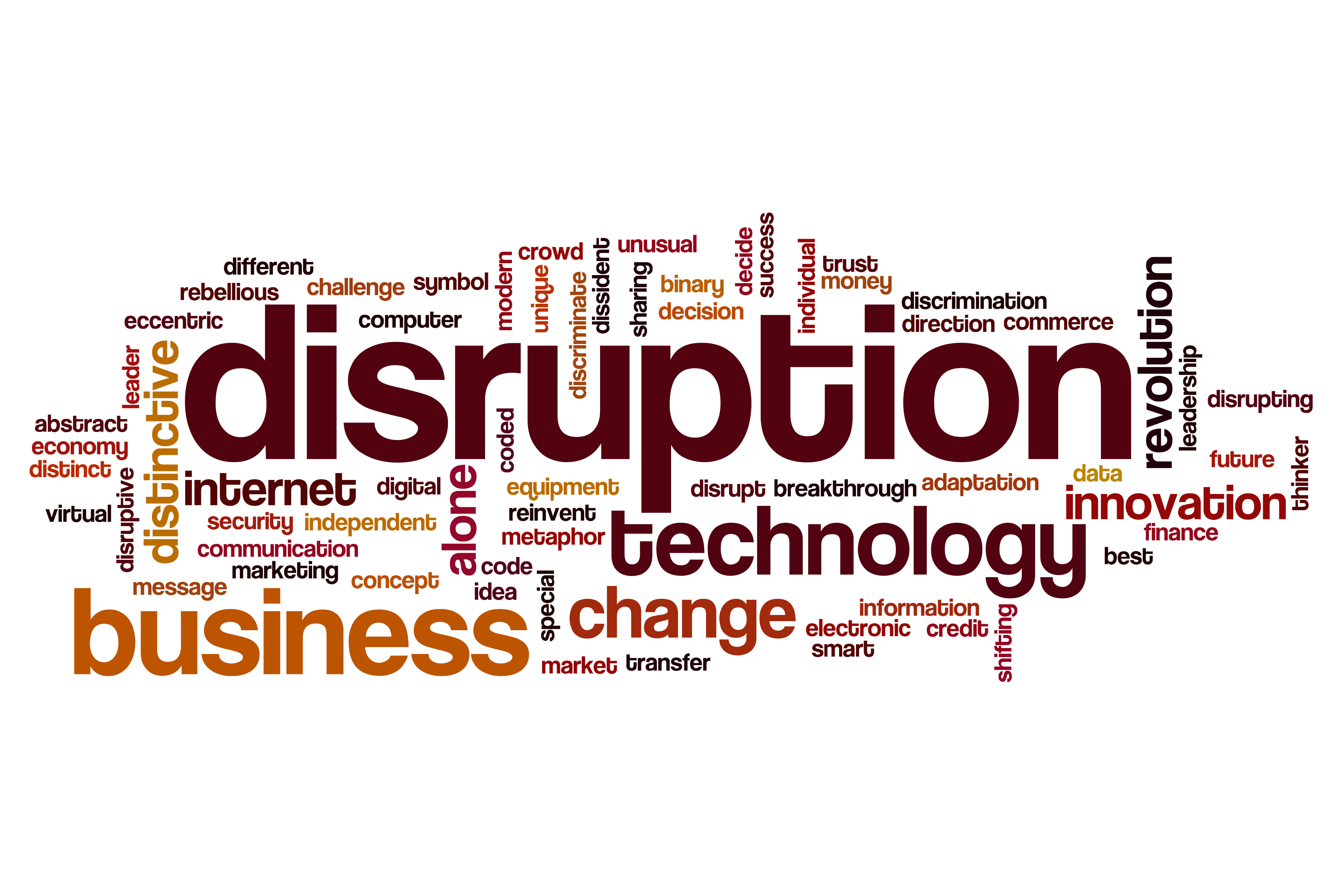 Disruption - the new normal?